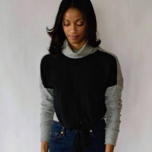 NWT Fifteen Twenty Tie Turtleneck Sweater